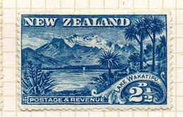 OCEANIE - Nelle ZELANDE - (Colonie Britannique) - 1898 - N° 73A - 2 1/2 P. Bleu - (Wakatipu) - Honduras