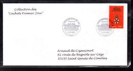 """"""" 200 ANS DE LA LEGION D'HONNEUR """" Sur Enveloppe 1er Jour De 2002 De La Collection """" CACHETS PREMIER JOUR """" N° YT 3490 - Napoleon"""
