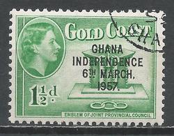 Ghana 1957. Scott #7 (U) Emblem Of Joint Provincial Council * - Ghana (1957-...)