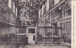 Roma, Vaticano, Interno Della Cappelle Sistina (pk53177) - Vatican