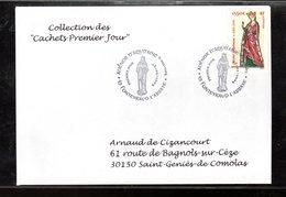 """"""" REINE ALIENOR D'AQUITAINE """" Sur Enveloppe 1er Jour De 2004 De La Collection """" CACHETS PREMIER JOUR """" N° YT 3640 - Non Classificati"""