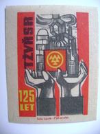 Czechoslovakia Matchbox Label 1964 - 125 Years Trinec Ironworks - Boites D'allumettes - Etiquettes
