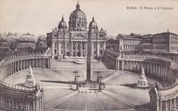 Roma, S Pietro E Il Vatocano (pk53183) - Vatican