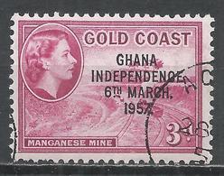 Ghana 1957. Scott #8 (U) Manganese Mine * - Ghana (1957-...)