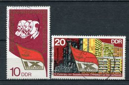DDR Nr.2123/4          O   Used      (21660) ( Jahr: 1976 ) - [6] République Démocratique