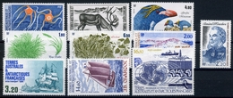 Franz. Antarktisgebiete Lot Aus 1987 MiNr. 220-29 Postfrisch MNH (MH2317 - Französische Süd- Und Antarktisgebiete (TAAF)
