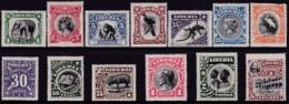 Liberia 1906 Sc 101-13 Mint Hinged (20c Damaged) - Liberia