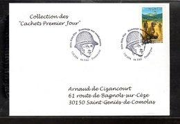 """"""" DIEN BIEN PHU """" Sur Enveloppe 1er Jour De 2004 De La Collection """" CACHETS PREMIER JOUR """" N° YT 3667 - Militares"""