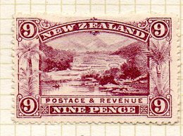 OCEANIE - Nelle ZELANDE - (Colonie Britannique) - 1898 - N° 79 - 9 P. Lilas - (Les Terrasses Roses De Rotomahana) - Honduras
