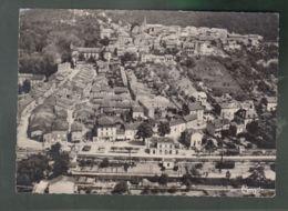 CP (54) Liverdun - Vue Panoramique Aérienne - Au 1° Plan, La Gare - Liverdun