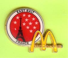 Pin's Mac Do McDonald's East Balt France Tour Eiffel - 7BB30 - McDonald's