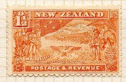 OCEANIE - Nelle ZELANDE - (Colonie Britannique) - 1900-09 - N° 99 - 1 1/2 P. Jaune-brun - (Départ Du Contingent Néo_zél) - Honduras