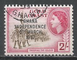 Ghana 1957. Scott #11 (U) Trooping The Colour * - Ghana (1957-...)