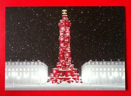 Chanel - Noël 2018, Carton D'invitation - Cartes Parfumées