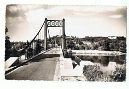 CPSM - 49 - GENNES - Le Pont, La Loire Et Le Clocher De Saint-Eusèbe - Autres Communes