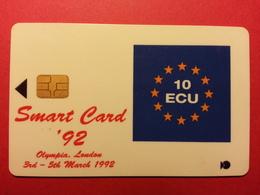 BRITISH London Smart Card 92 10 écu 1992 GPT SIEMENS Orga De La Rue BT Trial Demo Test (FA0718) - Royaume-Uni