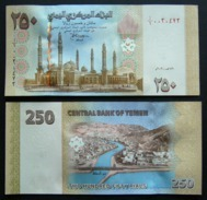Yemen 250 Rials FDS 2009 UNC - Yémen