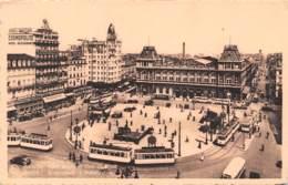 BRUXELLES - Place Rogier Et Gare Du Nord - Marktpleinen, Pleinen