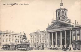 BRUXELLES - Place Royale - Marktpleinen, Pleinen