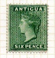 AMERIQUE CENTRALE - ANTIGUA - (Colonie Britannique) - 1884-88 - N° 17 - 6 P. Vert - (Victoria) - Antigua Et Barbuda (1981-...)