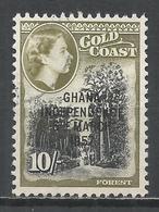 Ghana 1957. Scott #13 (U) Forest * - Ghana (1957-...)