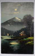 Watercolor Postcard. JAPAN. Japanese Motives. - Postcards