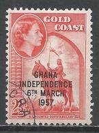 Ghana 1958. Scott #26 (U) N. T. Mounted Constabulary * - Ghana (1957-...)