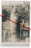 2 Karten: Original Foto Mesen Messines (Belgien) - Engl. Blindgänger Vor Regimentsunterstand - Dazu Gedrucktes Motiv - Messines - Mesen