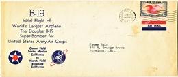 U.S. B 19  SUPER  BOMBER  FIRST FLIGHT  1941 - Air Mail