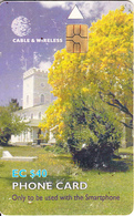 ST. VINCENT & THE GRENADINES(chip) - St. Georges Cathedral, First Chip Issue EC$40, Chip GEM6b, Used - Saint-Vincent-et-les-Grenadines