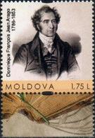 """Moldova 2016 """"230th Anniv. Of Dominique Francois Jean Arago (1786-1853) Physicist And Astronomer"""" 1v Quality:100% - Moldova"""
