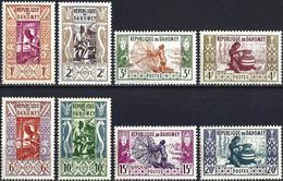 Dahomey 1961 - Craft ( Mi 178/85 - YT 159/66 ) MNH** Complete Issue - Bénin – Dahomey (1960-...)