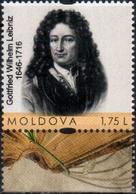 """Moldova 2016 """"370th Anniversary Of Gottfried Wilhelm Leibniz (1646-1716)"""" 1v Quality:100% - Moldova"""