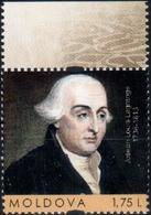 "Moldova 2016 ""280th Anniv.of Joseph Louis Lagrange (1736-1813) Famous French Mathematician,astronomer & Mechanic"" 1v - Moldova"