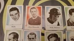 36 Naoorlogse Chromo's Van Cichorei De Beukelaar Internationale Wielrenners Series G-H-I-K 1949 - Thé & Café