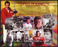 St. Vincent Grenadinen KB MiNr. 4948-55 Postfrisch MNH Mario Andretti (GF10610 - St.Vincent (1979-...)