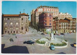 [978] GIJÓN. Plaza 6 Agosto Y Calle Fernández. Vallín (1962).- SEAT 600.- Non écrite. Unused. No Escrita. Non Scritta. - Asturias (Oviedo)