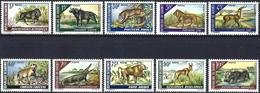 Dahomey 1968 - Varied Fauna ( Mi 337/46 - YT 265/74 ) MNH** Complete Issue - Bénin – Dahomey (1960-...)