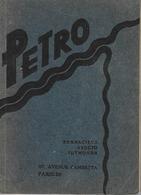 ESPERANTO, PETRO, KURSA LERNOLIBRO POR LABORISTOJ, PARIS, 1934 - Dictionnaires