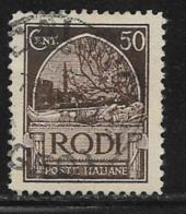 Italy Aegean Islands Rhodes Scott # 20 Used Crusader's Tomb, 1929 - Aegean (Rodi)