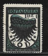 Italy Aegean Islands Rhodes Scott # C3 Used Symbol Of Flight, 1937-8 - Aegean (Rodi)
