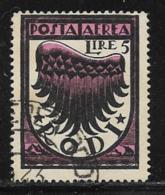 Italy Aegean Islands Rhodes Scott # C4 Used Symbol Of Flight, 1937-8 - Aegean (Rodi)