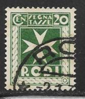 Italy Aegean Islands Rhodes Scott # J3 Used Postage Due, 1934 - Aegean (Rodi)