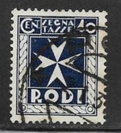 Italy Aegean Islands Rhodes Scott # J5 Used Postage Due, 1934 - Aegean (Rodi)