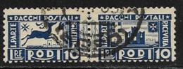 Italy Aegean Islands Rhodes Scott # Q11 Used Parcel Post, 1934 - Aegean (Rodi)