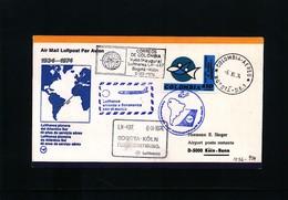 Colombia 1974 Lufthansa Flight  LH 497 Bogota - Koeln - Colombie