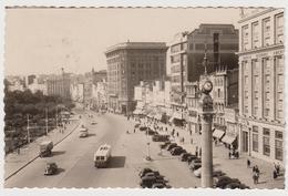 [984] CORUÑA. Cantón Grande. Circulada A Barcelona En 1956. Circulée En 1956. Posted In 1956. Viaggiata Nel 1956..Clock. - La Coruña