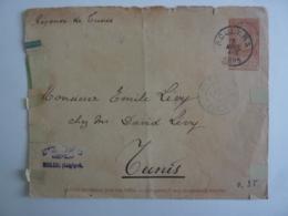 Regence De Tunis Timbre 10 Cachet à Date ROULERS Cachet Ambassade, Cachet Paris ETRANGER 1905 Dec 2018 Alb 5 - 1905 Barbas Largas