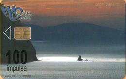 Montenegro - Montenegro Coast 100 Units, 100.000ex , 8/01, Used - Montenegro