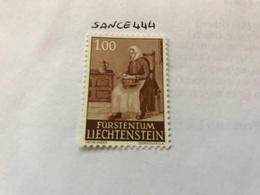 Liechtenstein Definitives 1.00f 1961 Mnh - Liechtenstein